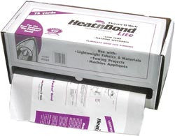 HeatnBond Lite Fusible Web White Sewable 75 Yds