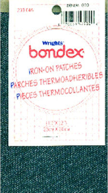 Bondex Iron-On Fabric Denim