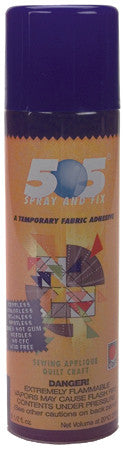 Temporary Fabric Spray And Fix Adhesive