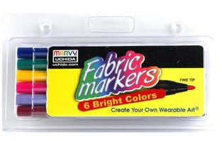 Fabric Marker Fine Tip Bright