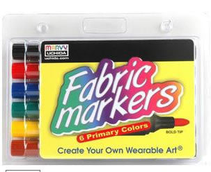 Fabric Marker Broad Tip Bright