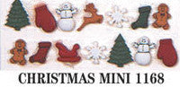 Holiday Dress It Up Embellishments Christmas Miniatures