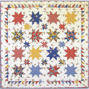 The Stars in Mama's Kitchen Free Quilt Pattern