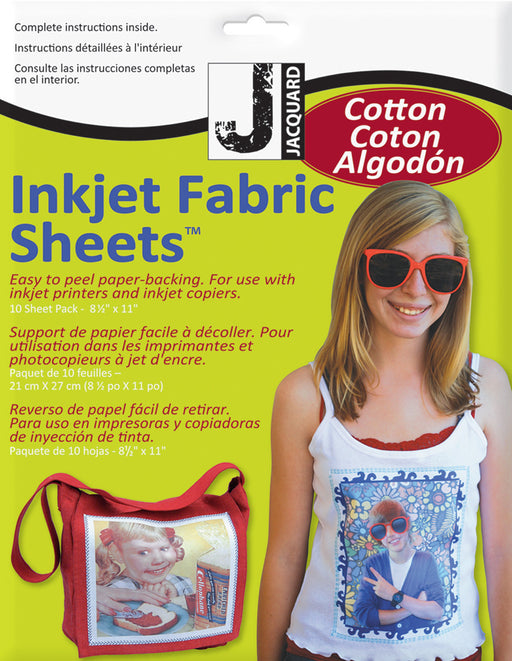 Inkjet Cotton 8.5inX11in
