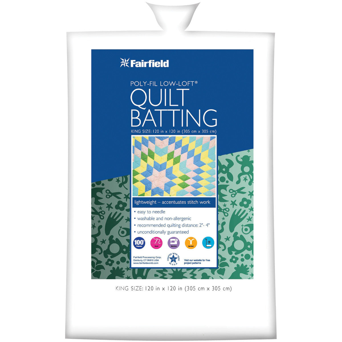 Discount Quilt Batting - Quilting-Warehouse : polyester quilt batting by the roll - Adamdwight.com