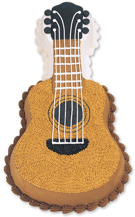Novelty Cake Pan Guitar