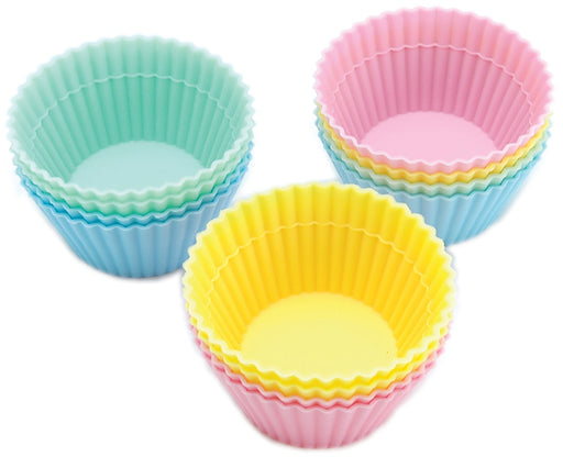 Silicone Baking Cups Pastel