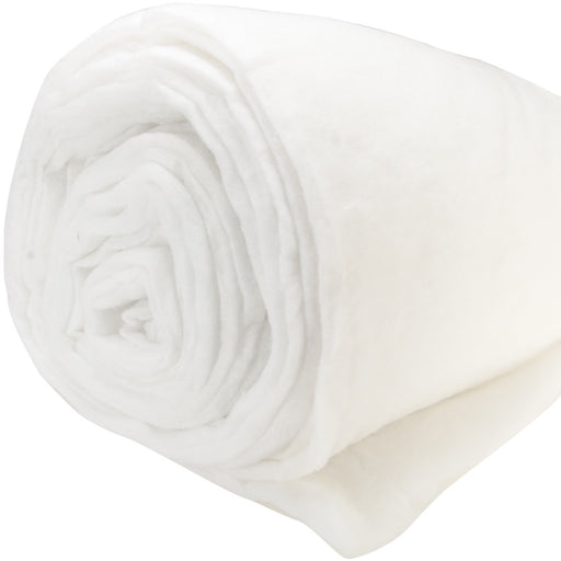 Microsafe Batting By The Roll Polyester Med To High Loft 12oz/yd