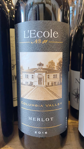 L'ecole No 41 2017 Columbia Valley Merlot