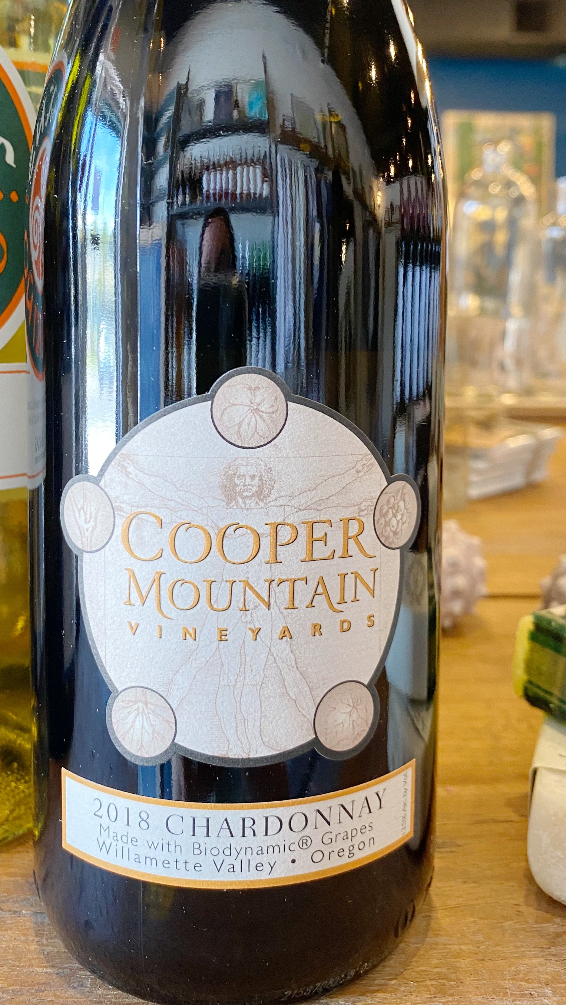 Cooper Mountain Vineyards 2018 Chardonnay Willamette Valley