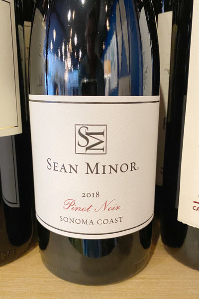 Sean Minor Signature Series 2018 Pinot Noir Sonoma Coast