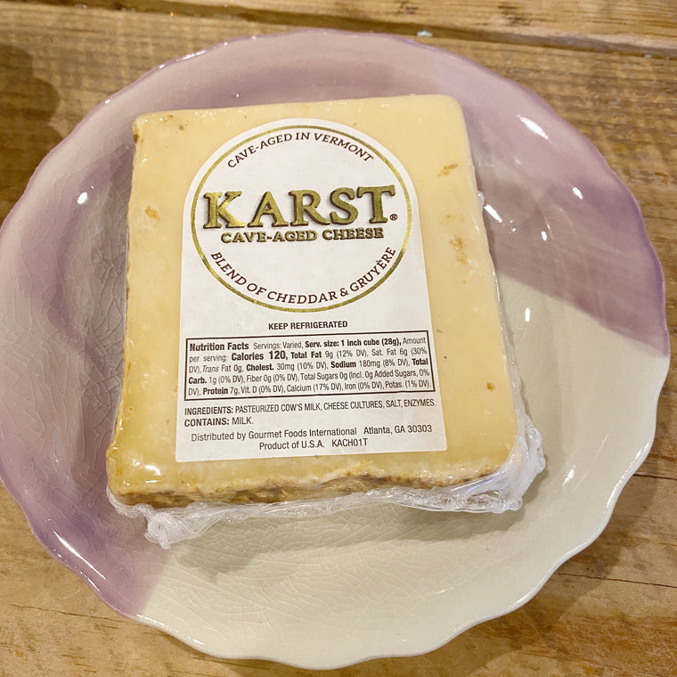 Karst Cave Aged Cheese