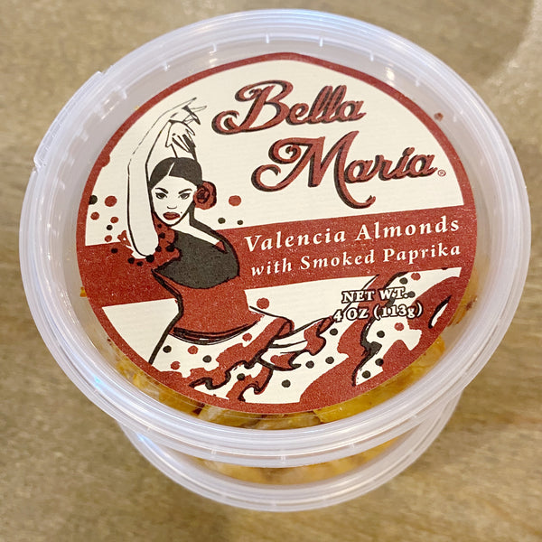Bella Maria Valencia Almonds with Smoked Paprika