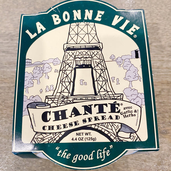 La Bonne Vie Chante Cheese Spread with Garlic and Herbs