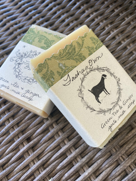 Green Tea & Ginger Soap