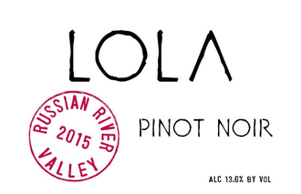 LOLA 2018 Pinot Noir Russian River Valley