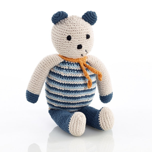 Pebble Organic Bear - Petrol Blue