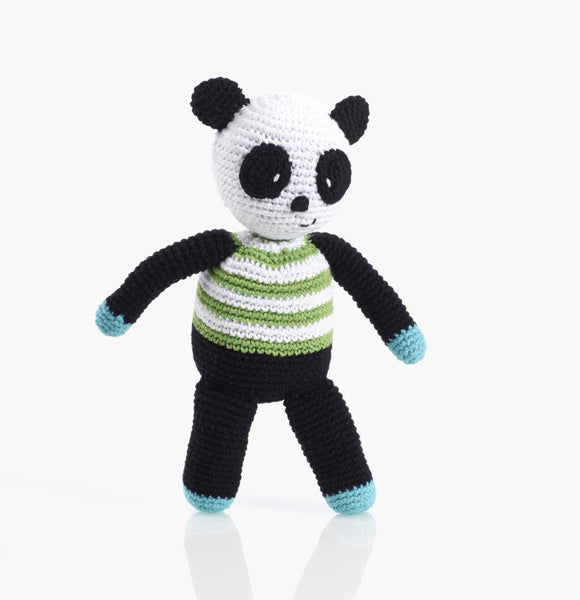 Pebble Panda Rattle