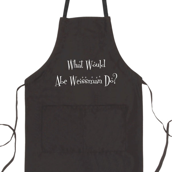 What Would Abe Weissman Do? Bib Apron with Pockets