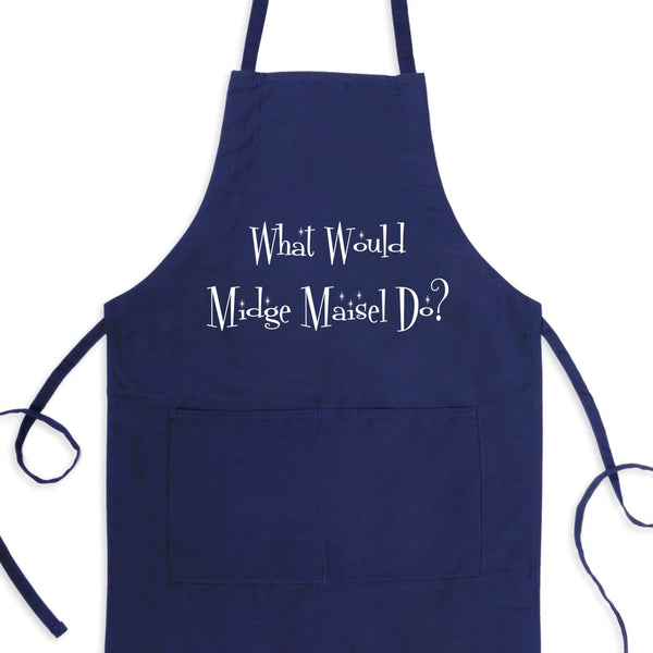 What Would Midge Maisel Do? Bib Apron with Pockets