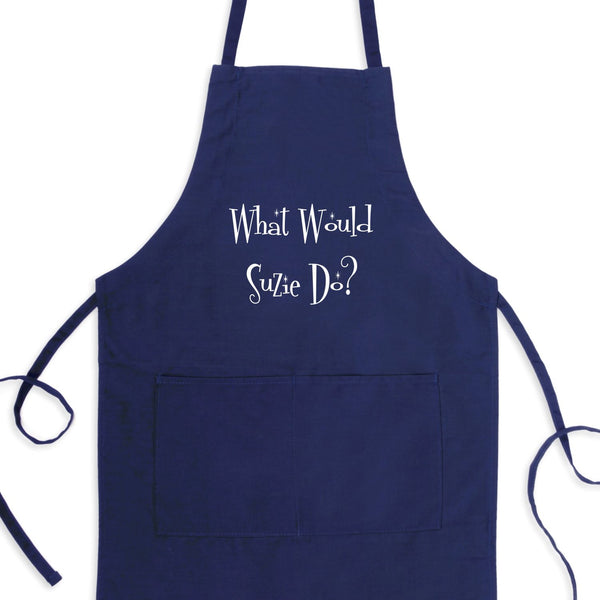 What Would Suzie Do? Bib Apron with Pockets