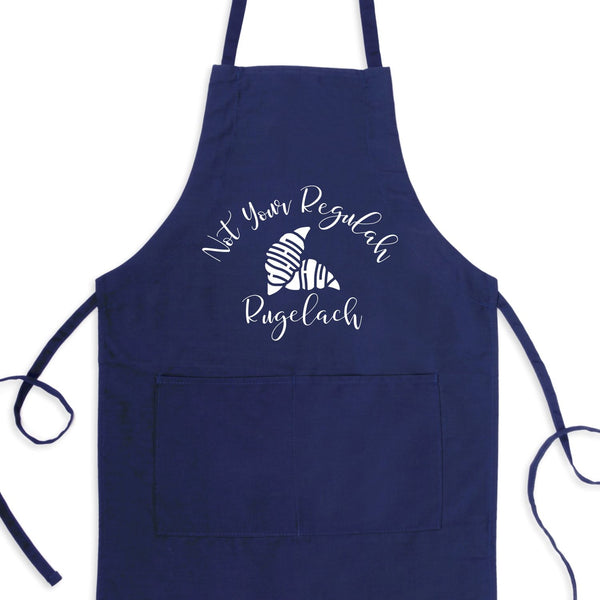 Not Your Regulah Rugelach Bib Apron with Pockets