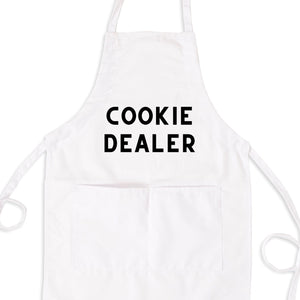 Cookie Dealer Bib Apron with Pockets