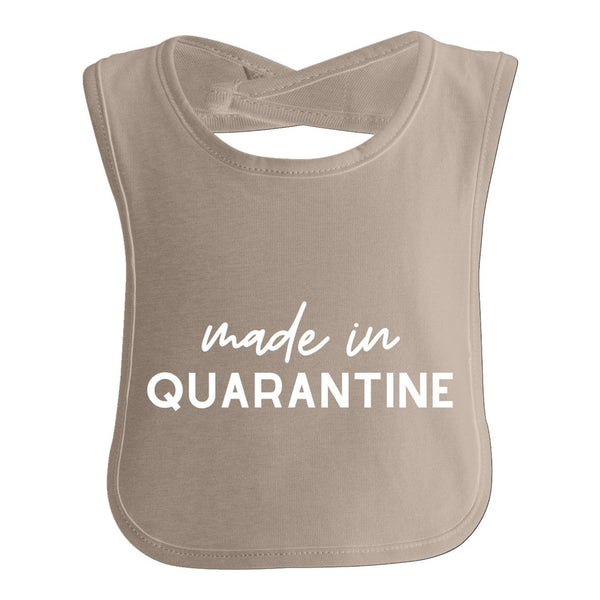 Made In Quarantine, Funny Quarantine Baby Bib