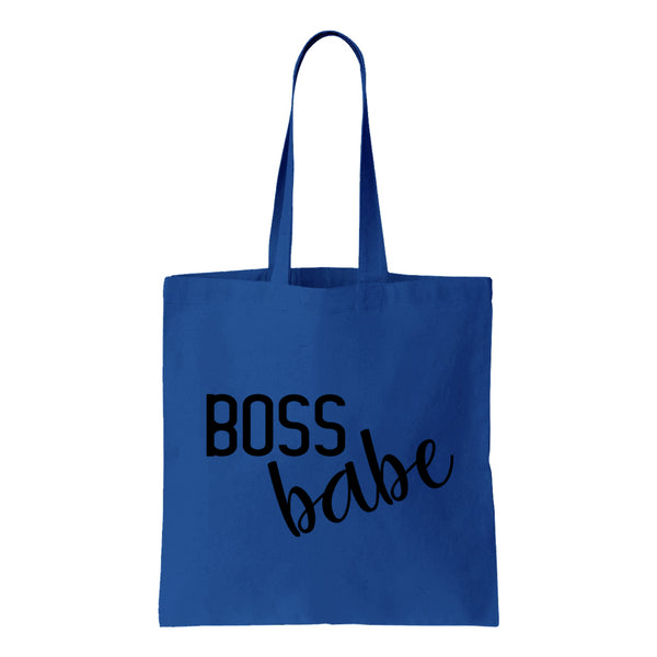Boss Babe Canvas Tote