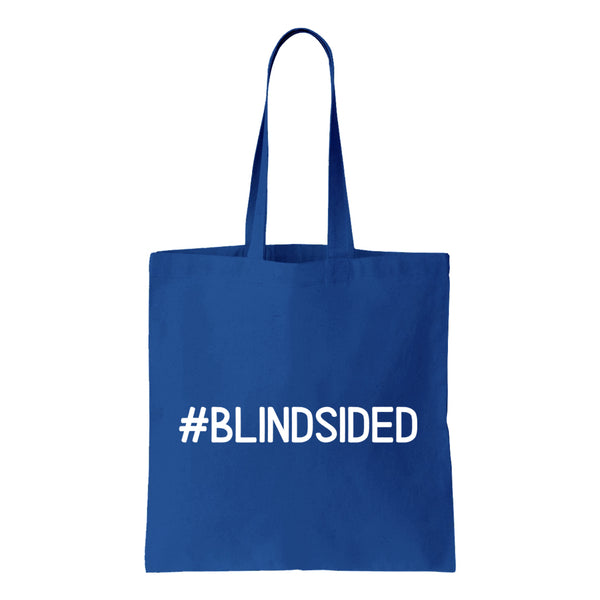 #BLINDSIDED Canvas Tote