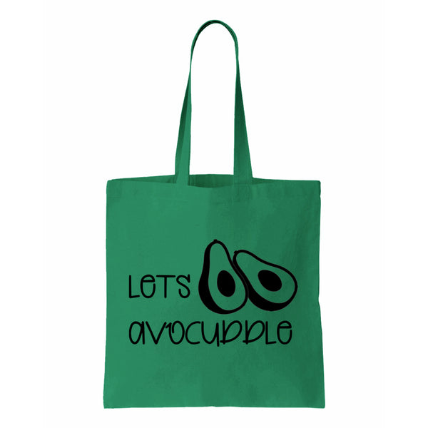 Lets Avocuddle Canvas Tote
