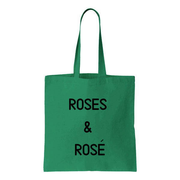 Roses & Rose Canvas Tote