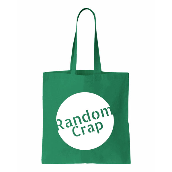Random Crap Canvas Tote