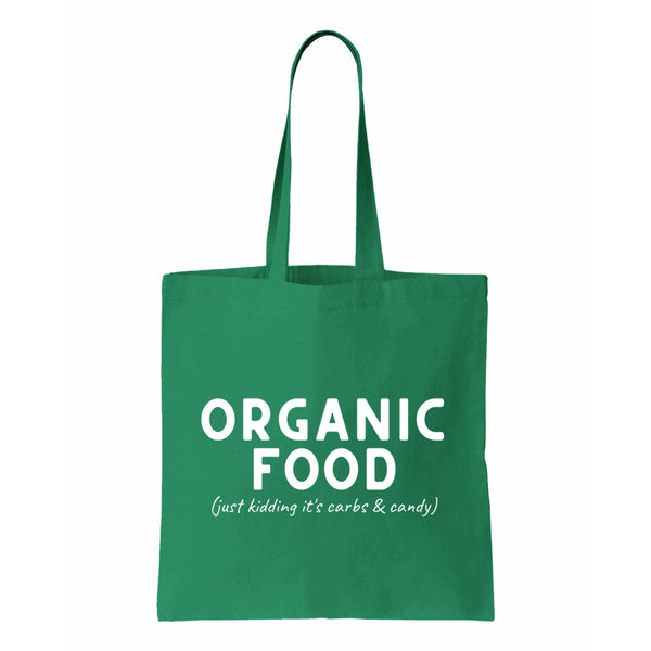 Organic Food Canvas Tote