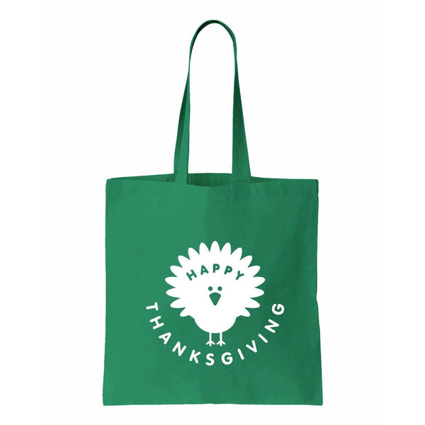 Happy Thanksgiving Canvas Tote