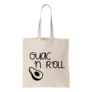 Guac 'N Roll Canvas Tote