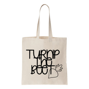 Turnip The Beet Canvas Tote