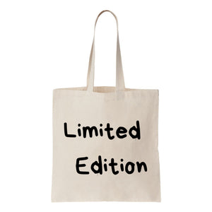 Limited Edition Canvas Tote