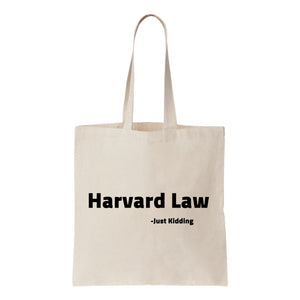 Harvard Law Canvas Tote