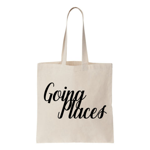Going Places Canvas Tote