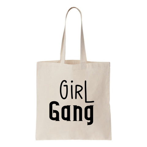 Girl Gang Canvas Tote