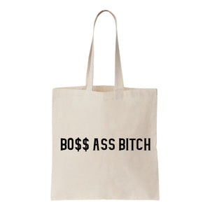 Bo$$ Ass Bitch Canvas Tote