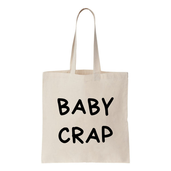 Baby Crap Canvas Tote