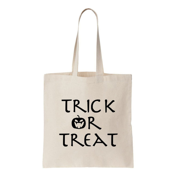 Trick Or Treat Canvas Tote