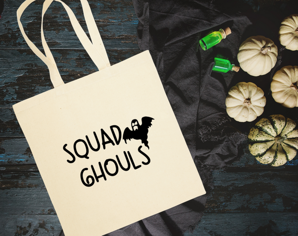 Squad Ghouls Canvas Tote