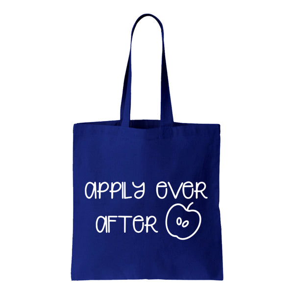 Appily Ever After Canvas Tote
