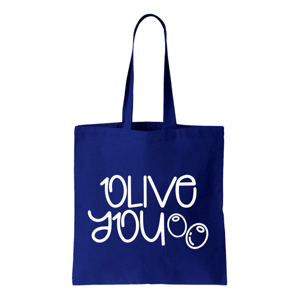 Olive You Canvas Tote