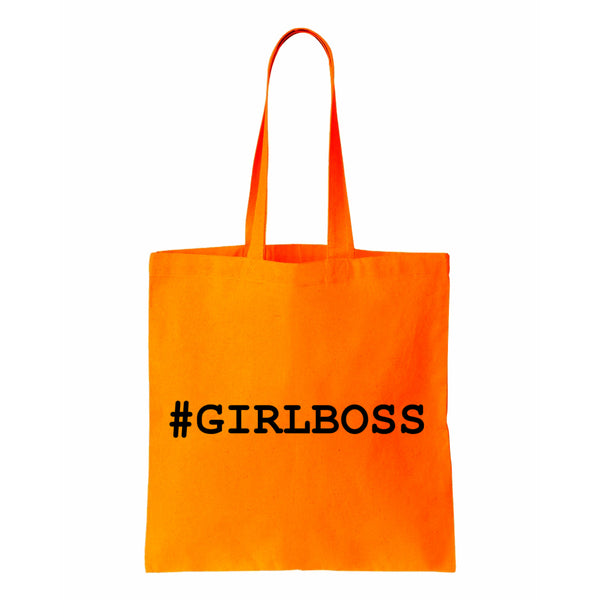 #GIRLBOSS Canvas Tote