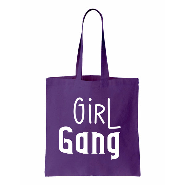 Girl Gang Canvas Canvas Tote