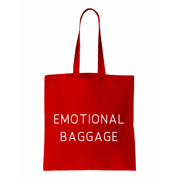 Emotional Baggage Canvas Tote